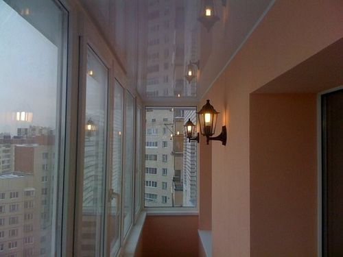 Освещение на балконе своими руками: дизайн (фото и видео)