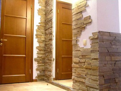 Отделка стен камнем: ее виды и особенности (фото)