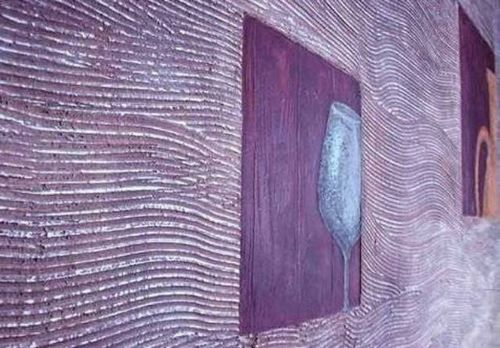 Отделка стен структурной штукатуркой - плюсы и минусы