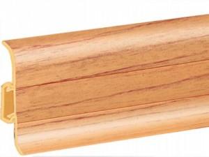 Плинтуса напольные деревянные шпонированные - размеры, характеристики