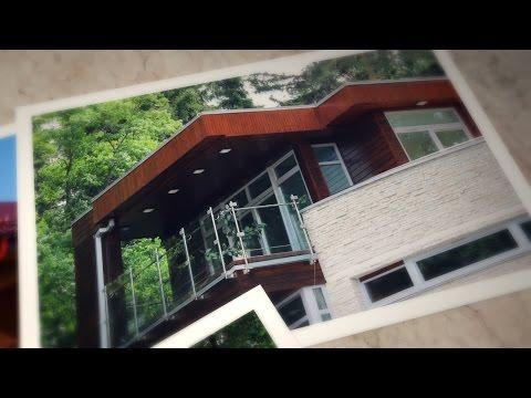 Покраска деревянного дома снаружи: фото, видео инструкция