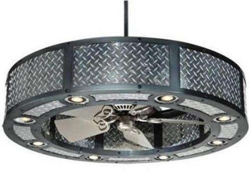Потолочный вентилятор со светильником - интересное решение сразу двух задач