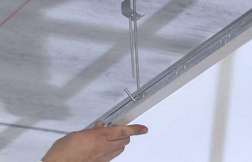 Потолок армстронг своими руками: фото, схема, видео инструция