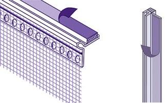 Профиль оконный примыкающий: самоклеющийся с армирующей сеткой, для штукатурки, видео