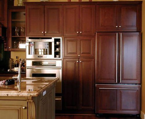 Размер встраиваемого холодильника