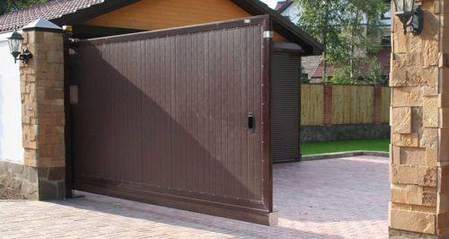 Размеры гаражных ворот