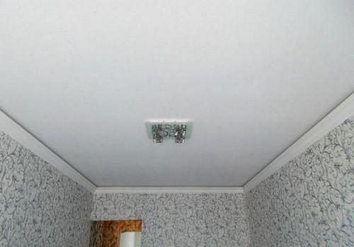 Разновидности натяжных потолков