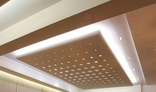 Реечный потолок перфорированный: особенности, монтаж