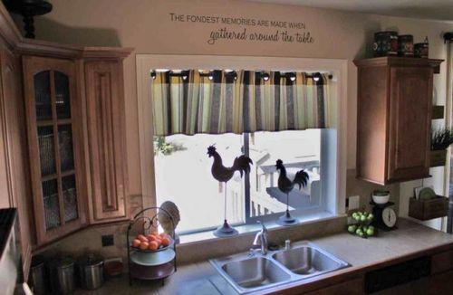 Шторы на кухню с низкими потолками - особенности выбора и детали