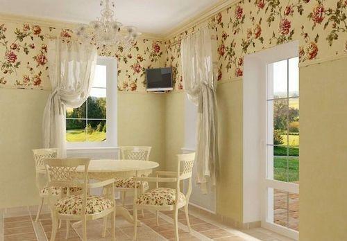 Шторы в стиле кантри фото: деревенский занавески в дом, для маленьких окон дачи, сшить самим, видео-инструкция своими руками