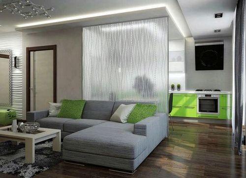 Стеклянные перегородки в квартире, фото