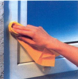 Уход за пластиковыми окнами и подоконниками