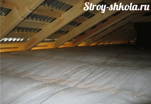 Утепление крыши бани - пошаговая методика!