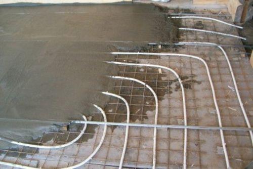 Водяной теплый пол под ламинат своими руками: Инструкция   фото, Видео