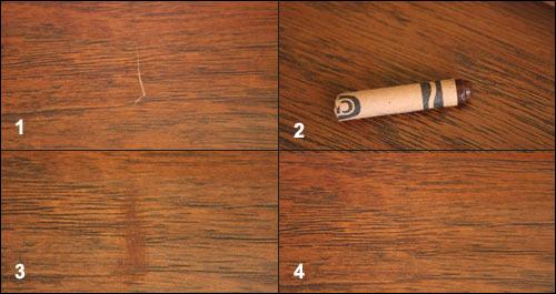 Воск для ламината: выбор и применение на стыках и замках