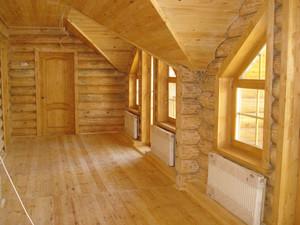 Выбор откосов окон в деревянном доме
